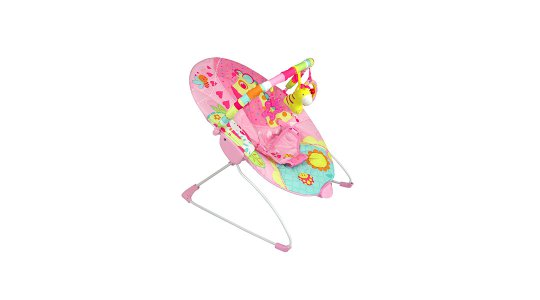 Silla nido bouncer vibrador rosada  Bebesit  Babytuto