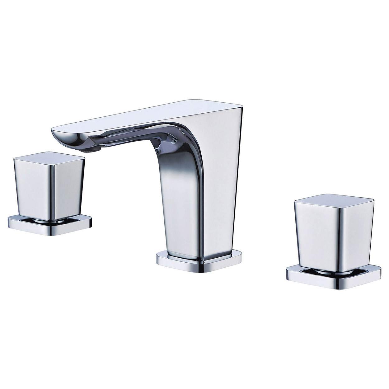 Bath4All  ALFI Brand AB1782PC Polished Chrome Widespread Modern Bathroom Faucet