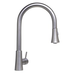 Kitchen Faucets Stainless Steel Mats Walmart Bath4all Alfi Brand Ab2034 Bss Solid Brushed