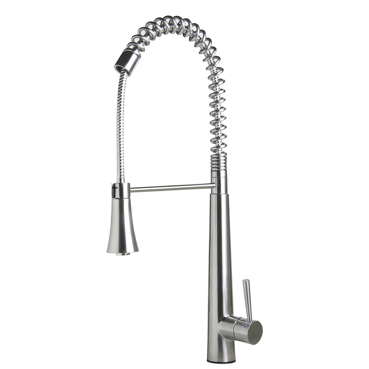 commercial pull down kitchen faucet stacked stone outdoor bath4all alfi brand ab2039s solid stainless steel