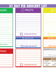 day fix sample grocery list also steps for successful meal planning the beachbody blog rh beachbodyondemand