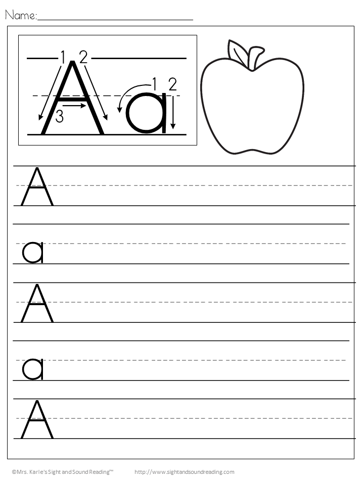 Handwriting Worksheets For Kindergarten Names  Handwriting Worksheets Have Fun Teachingbest