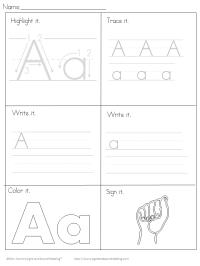 Printable Handwriting Worksheets for Kids | Mrs. Karles ...