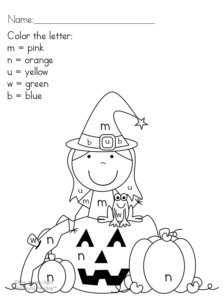 Halloween Printable Coloring Pages – Free, fun and fabulous! | coloring pages for kindergarten