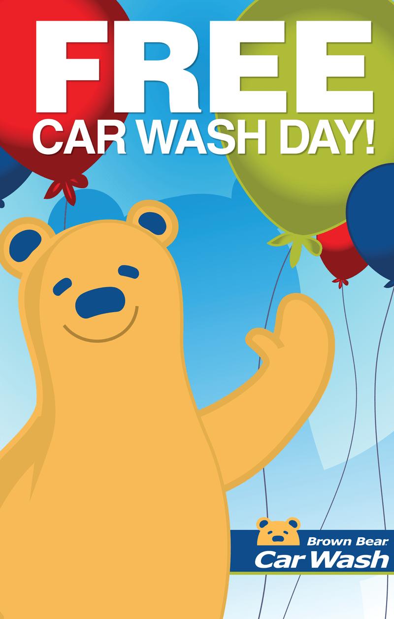 free car wash day