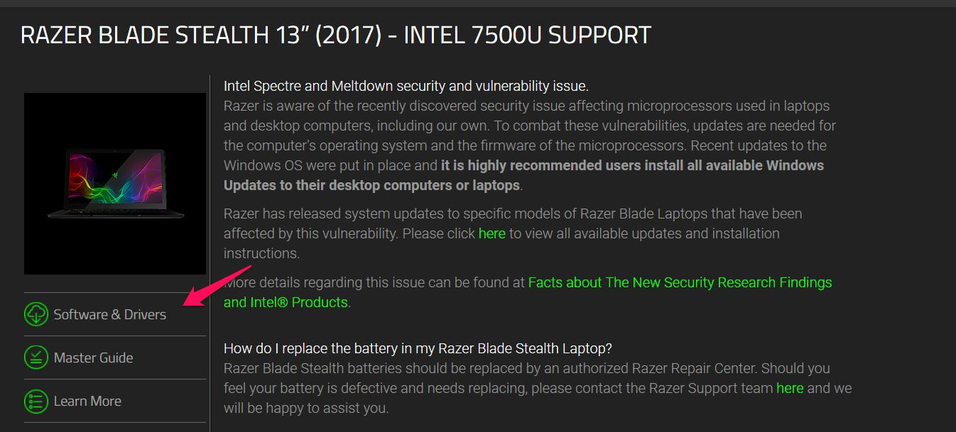 Thunderbolt™ 3 Firmware and Driver Updates for Razer Computers - Cable Matters Knowledge Base