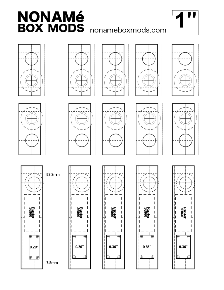 Drilling Diagrams: 1590A, 1590B, 1590G, and possibly
