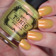 tonic nail polish slime and snails