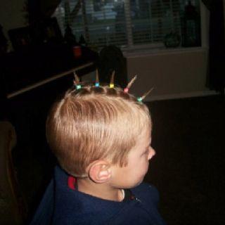 easy crazy hair day ideas