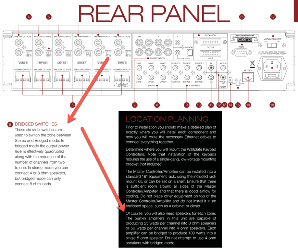 medium resolution of here is how i created a single 8 input with four different 8 speakers