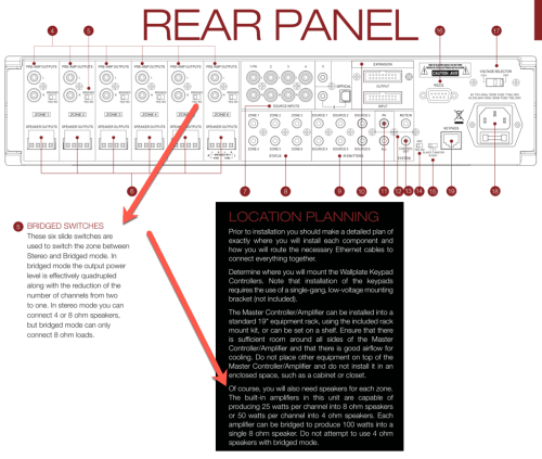 small resolution of here is how i created a single 8 input with four different 8 speakers