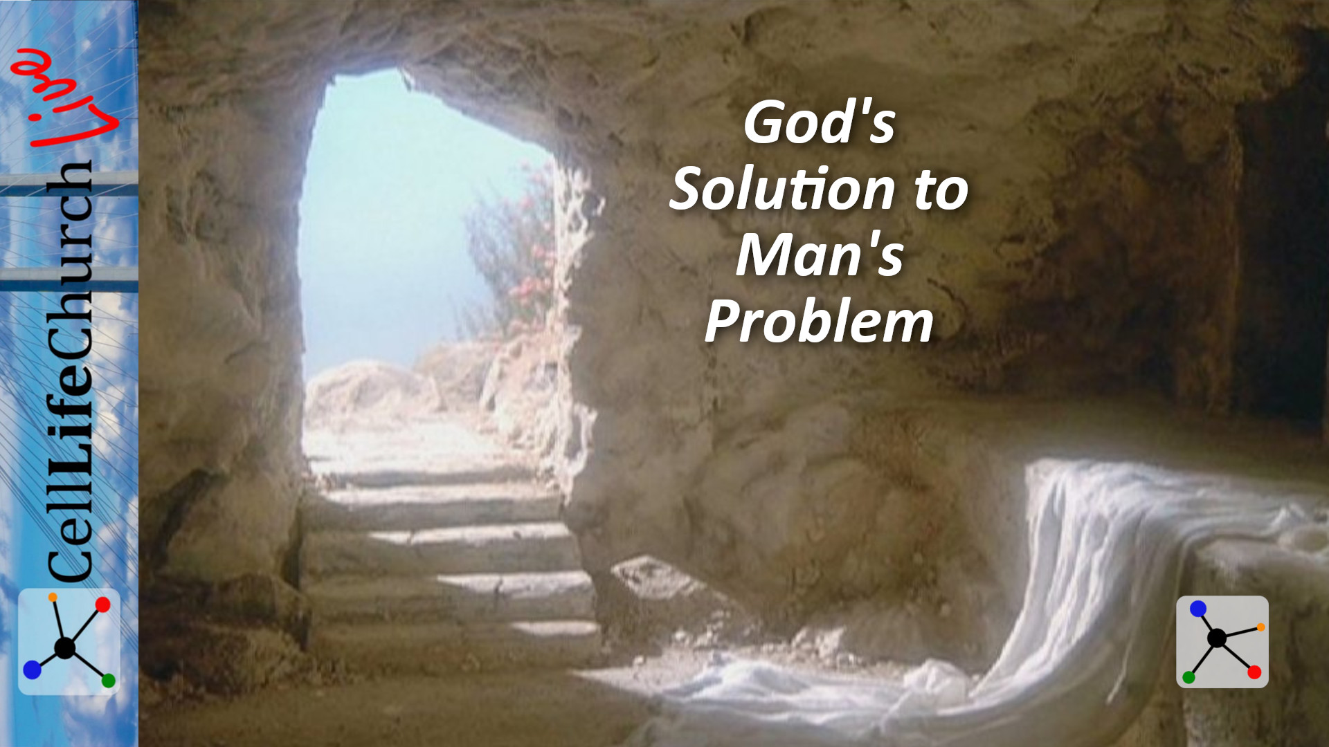 God's Solution to Man's Problem