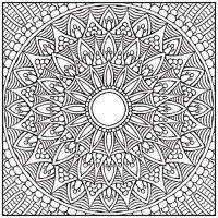ADULT COLORING BOOK: Mandalas Stress Relieving Designs ...