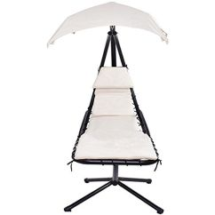 Hanging Hammock Lounge Chair Ikea Lucite Swing With Canopy Beige