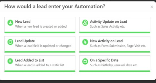 LeadSquared automation