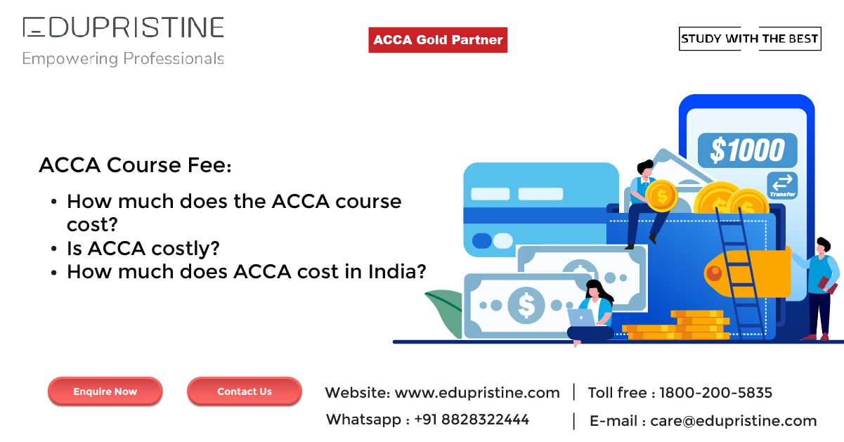 ACCA course Fees