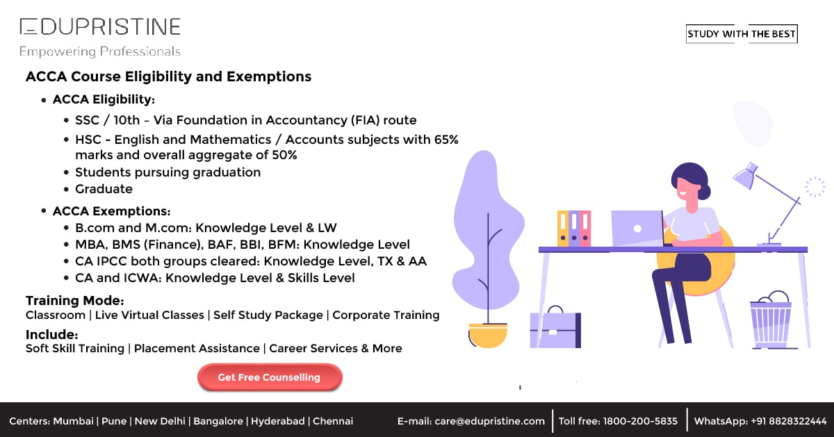 ACCA Eligibility and Exemptions