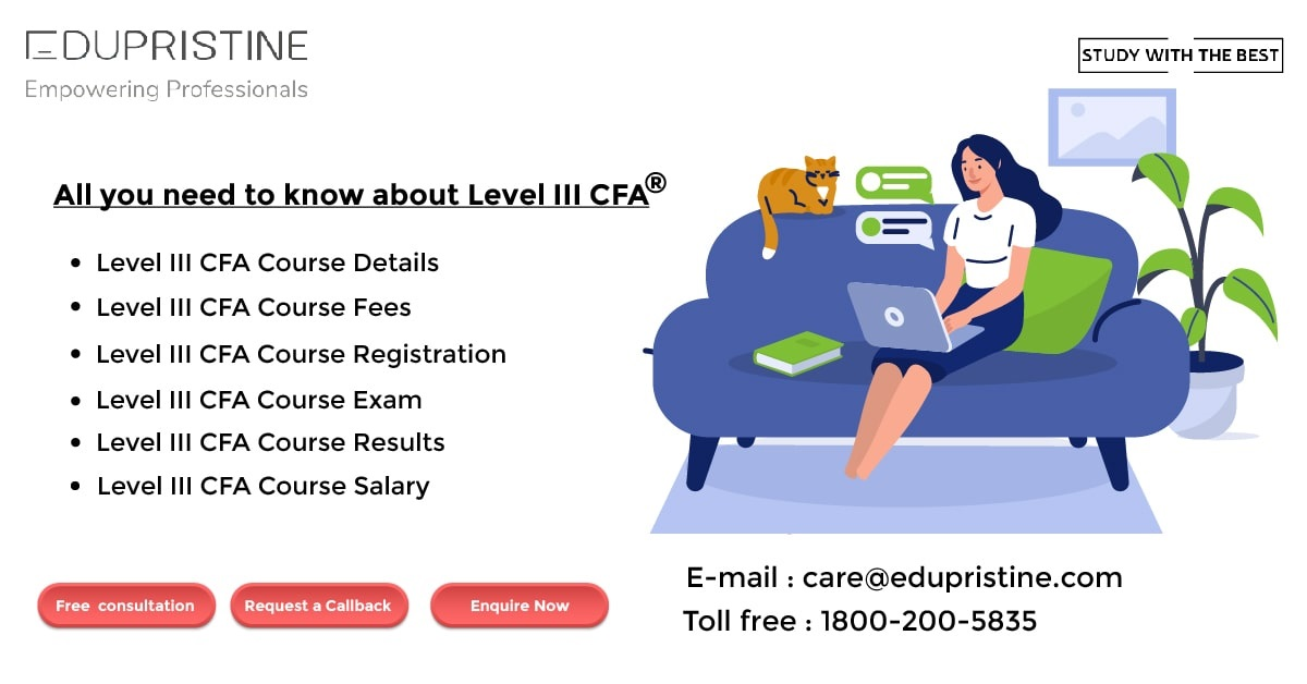 All you need to know about Level III CFA