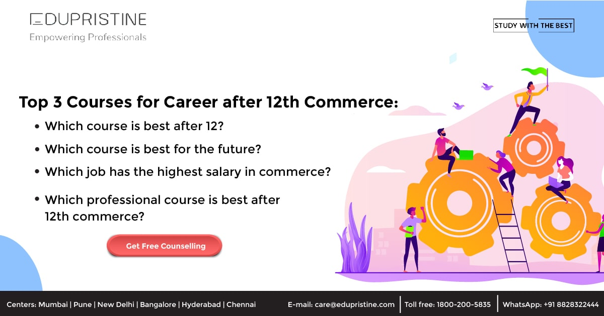 Career after 12th Commerce