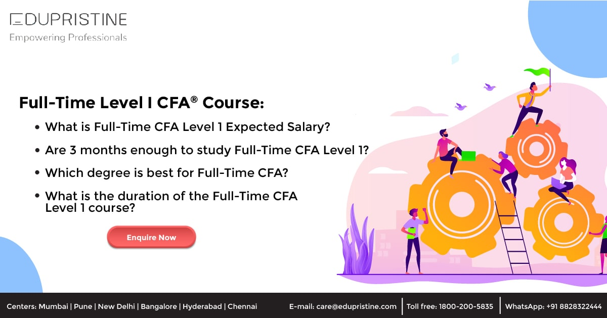 Full-Time Level I CFA Course