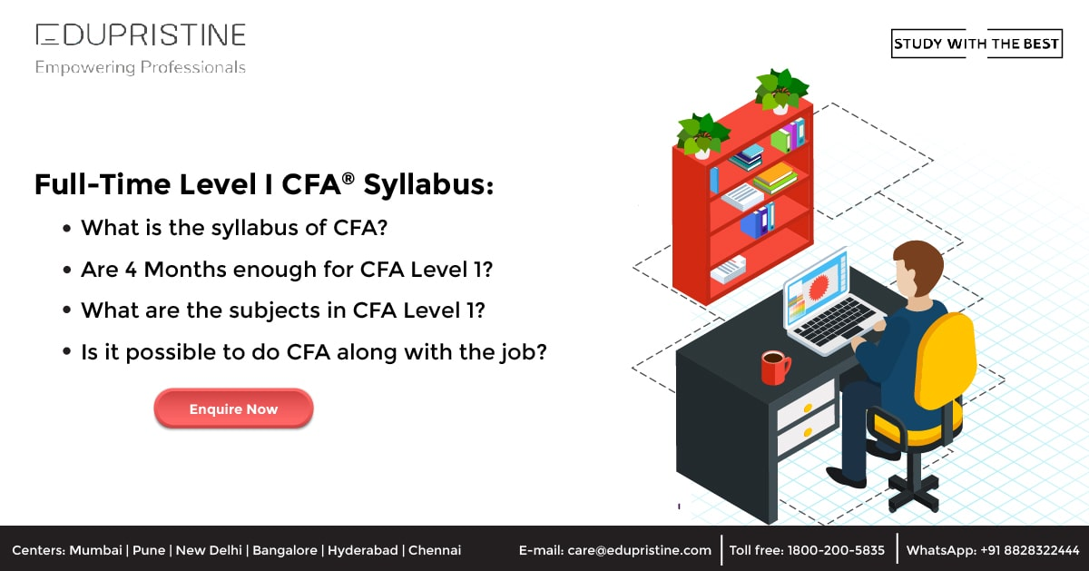 Full-Time Level I CFA® Syllabus