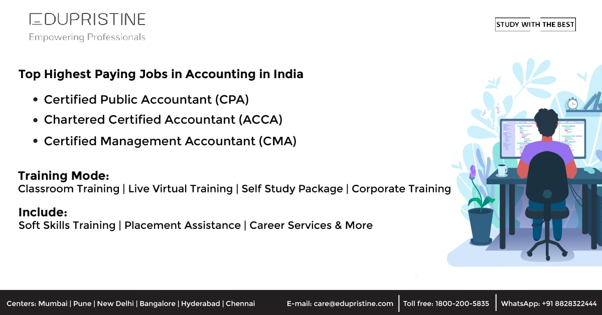 Top Highest Paying Jobs in Accounting in India [2021-2022]