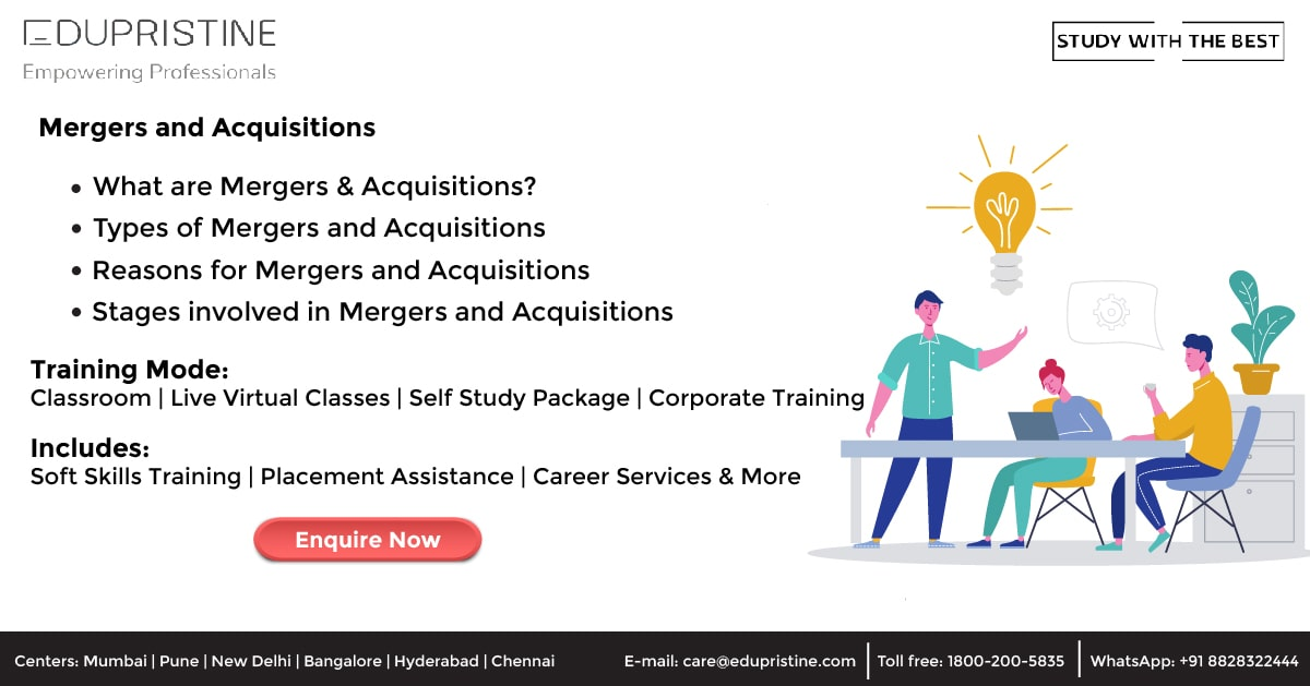 What is Mergers & Acquisitions?