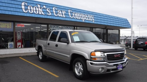 small resolution of 2005 gmc sierra 1500 slt z 71 crew cab 4 4 super clean low mile trade in