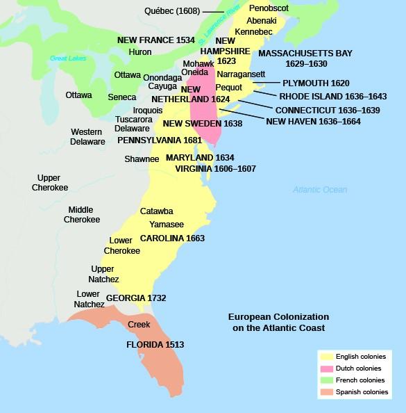 English Settlements In America US History I – Daniel