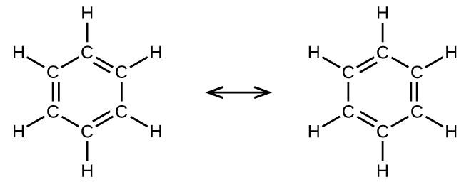 benzene lewis diagram
