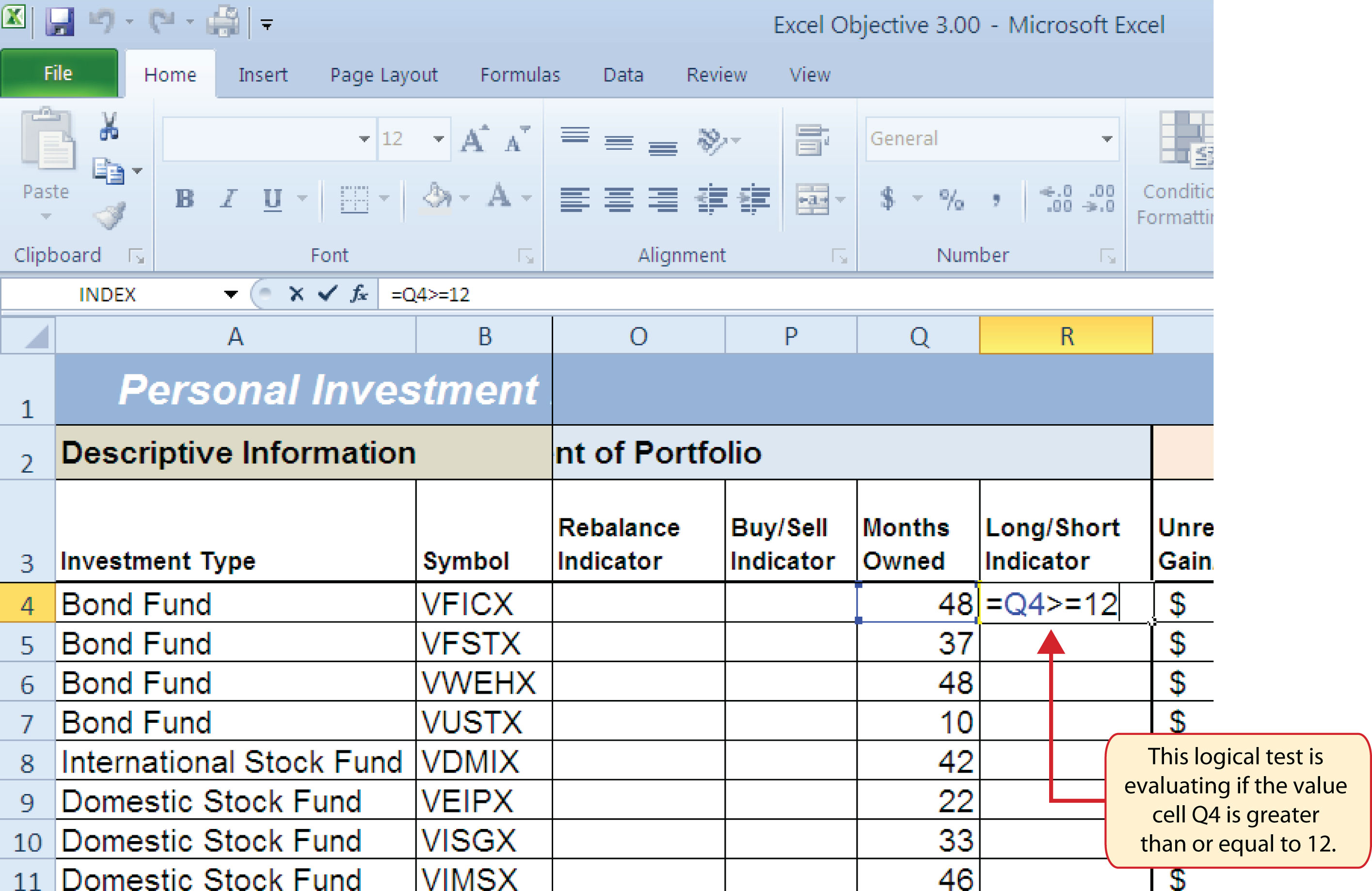 Unit 3 Logical And Lookup Functions