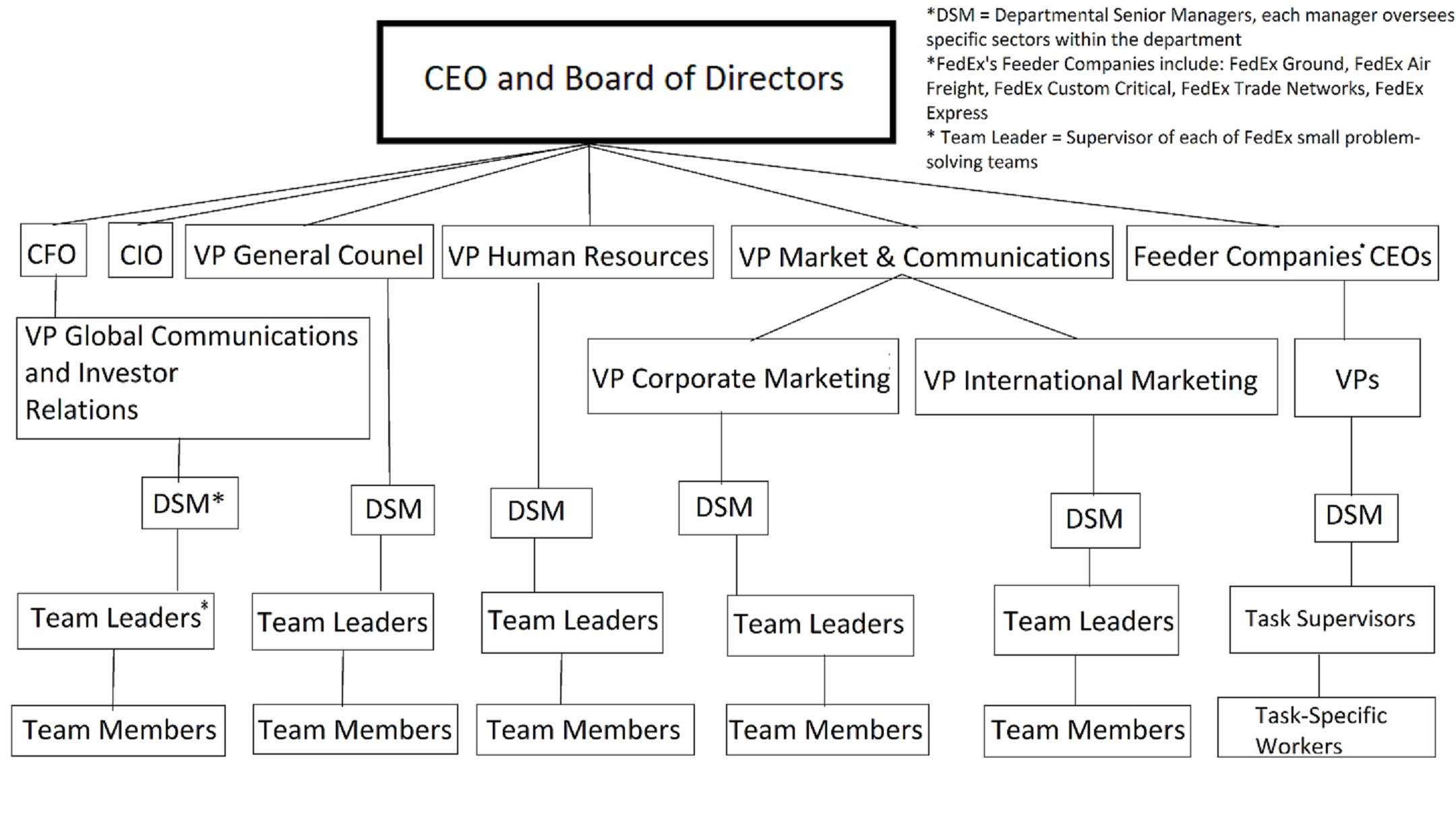 Common Organizational Structures