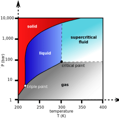 Phase Diagram Blank Template Show Er For Library Management System Changes Boundless Chemistry Carbon Dioxide This Indicates The Supercritical Fluid Region Of Co2