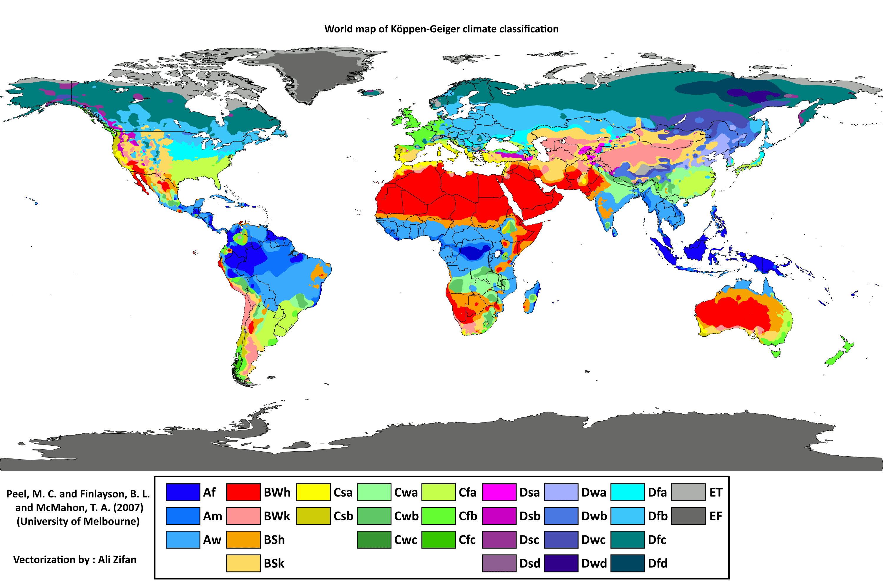 Climate Zones And Biomes