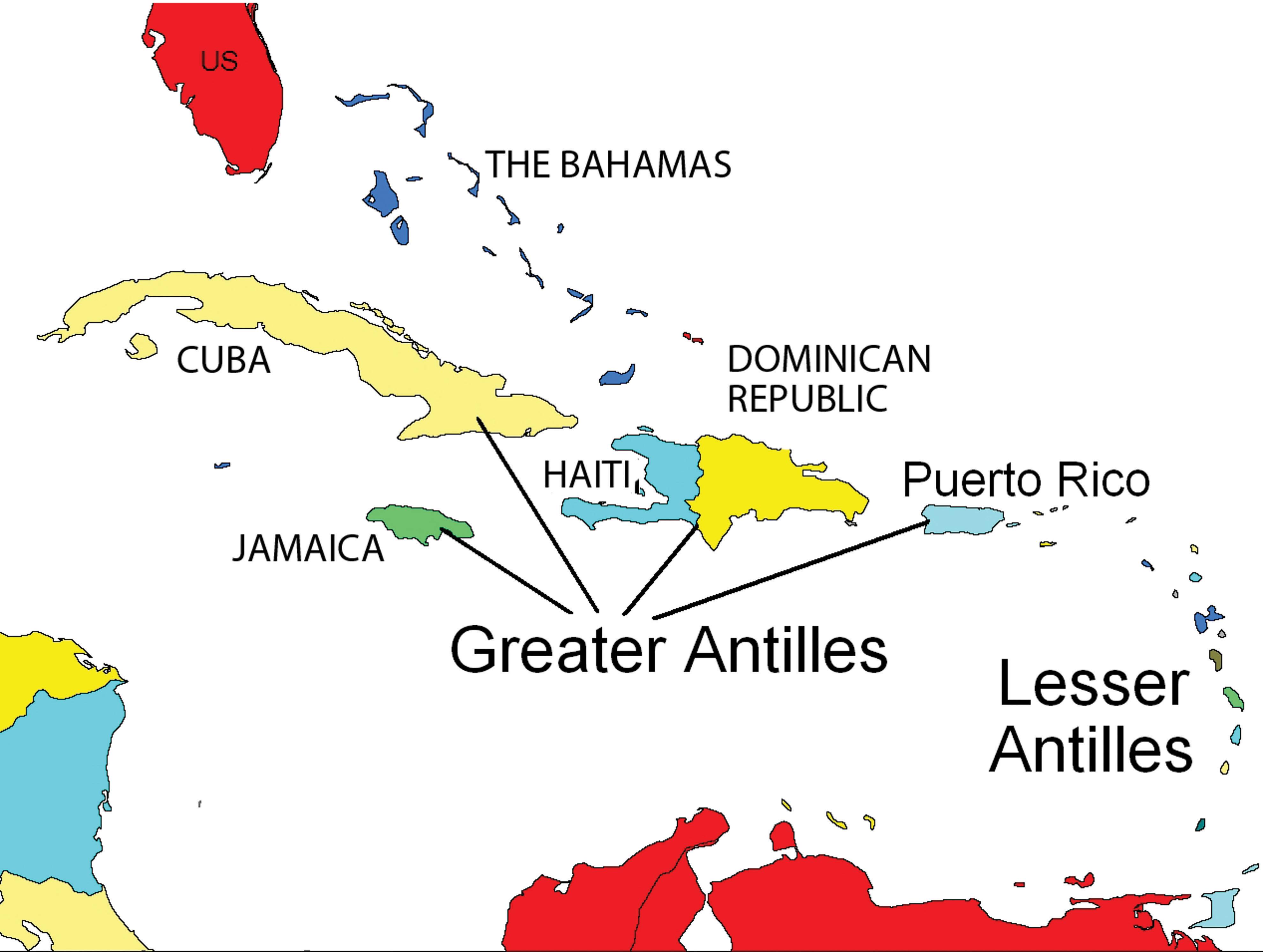 5 4 The Caribbean