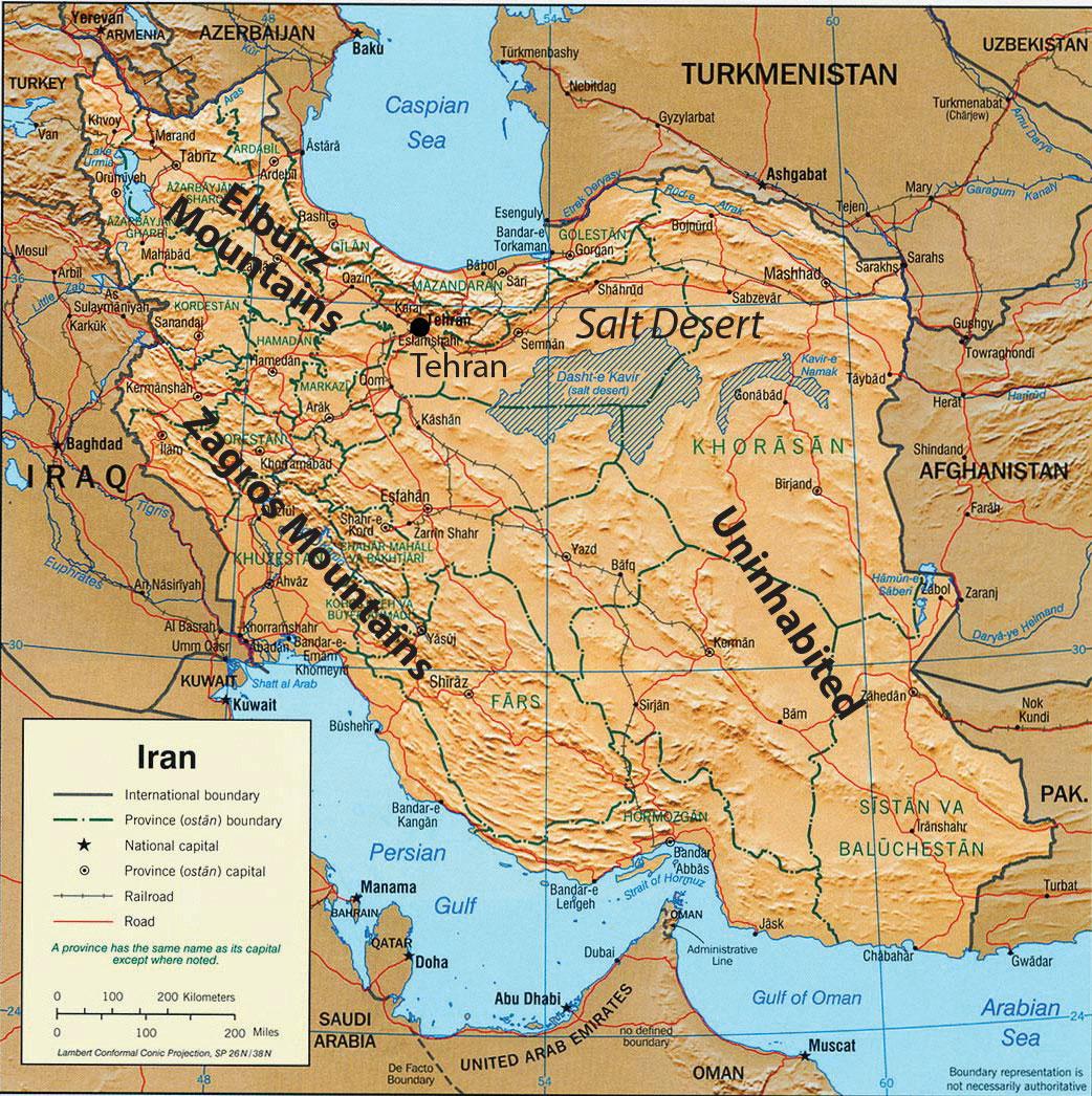 8 6 Iraq Turkey And Iran