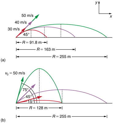 projectile motion physics