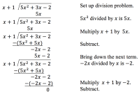 Polynomial Long Division | College Algebra
