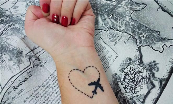 Tatuajes Perfectos Para Amantes De Los Viajes Blog Denomadescom