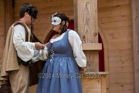 Kat as Juliet, Pigeon Creek Shakespeare, 2014 (remount)