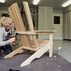 How To Build An Adirondack Chair Sling Stacking Patio Threshold Diy Dunn Back Supports