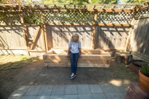 Make Raised Juniper Garden Bed Diy