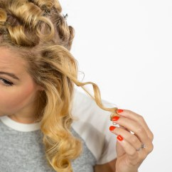 Pin Curl Diagram 1996 Club Car Wiring 36 Volt How To Make Curls Like Rosie The Riveter Dunn Diy Seattle Wa 11