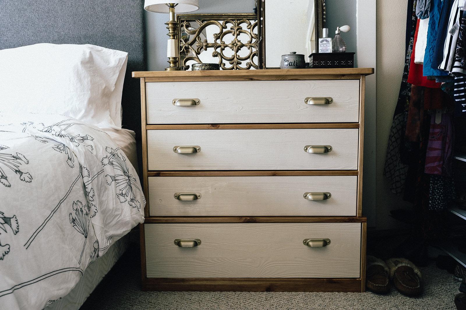 IKEA Dresser Hack  Fjell Dresser  Dunn DIY
