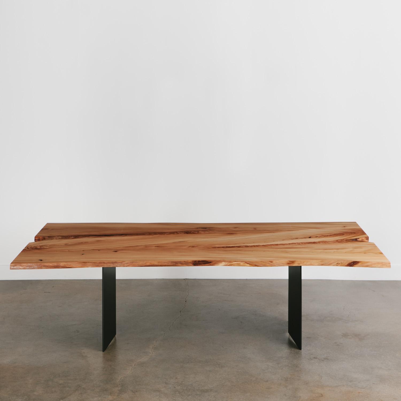 Elm Dining Table  Elko Hardwoods  Modern Live Edge