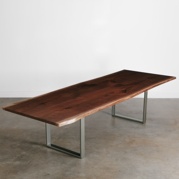Walnut Conference Table - Elko Hardwoods Modern Live