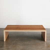 Ash Coffee Table - Elko Hardwoods | Modern Live Edge ...