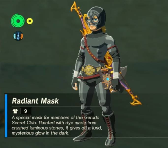 The Legend Of Zelda Breath Of The Wild Radiant Armor