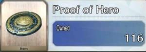 Proof of Hero