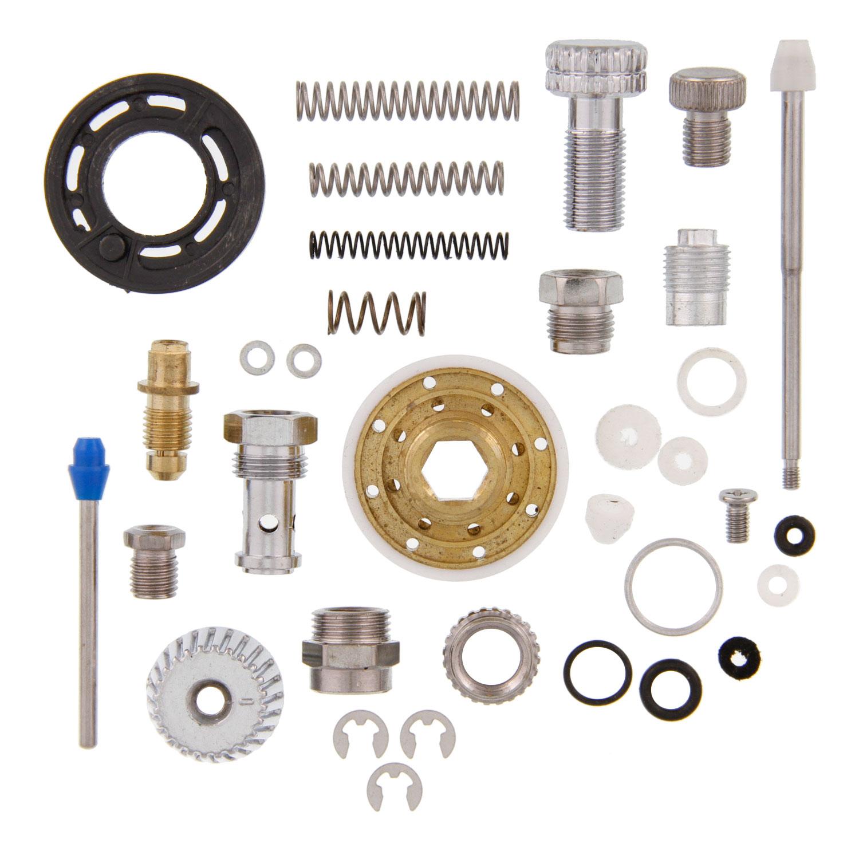 devilbiss spray gun parts diagram energy level for aluminum tcpglobal g6600 hvlp repair kit rebuild 844825099968 details about